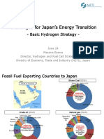 Challenges for Japan's Energy Transition - Basic Hydrogen Strategy - METI