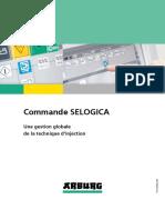 Focus. Commande SELOGICA. Une gestion globale de la technique d injection. www.arburg.com