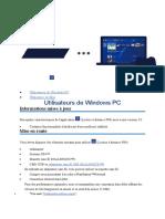 Lecture à distance PS4Windows PC