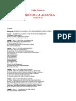 mesters.libro de la alianza