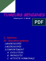 TUMEURS BENIGNES -PRESENTATION