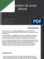 Diagnóstico de acoso laboral