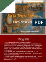 Teresa D'avila - livro della vita Cap 33-34 - Marcelo Souza