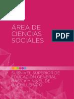 SOCIALES CURRICULO