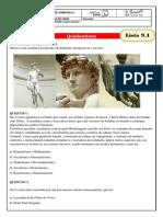 monitoria - lista 9