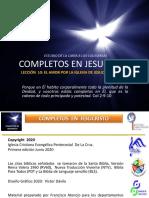 Completos en Jesucristo - Lec 10 - Col 2,1-7