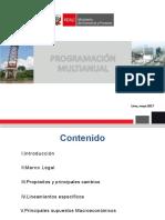 Directiva Programacion Multianual 2018