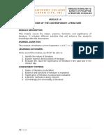 English 4 Writing in the Discipline Module 1-2