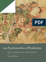 The Psychomachia of Prudentius_ - Prudentius