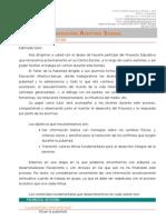 Carta a los tutores_PEAS_ 1º ESO