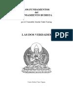 Venerable Gueshe Tashi Tsering (1999) Las Dos Verdades