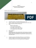 CONTOH SOAL DAN PEMBAHASAN BAHASA INGGRIS PAKET 3
