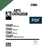 Manual de Taller Yz450 f