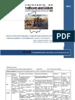 DICEÑO CURRICULAR DE  FILOSOFIA Y REEDUCACIÓN SECUNDARIA COMUNITARIA PRODUCTIVA CAMPO DE SABERES