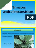 Fármacos anticolinesterásicos