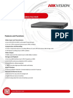 Datasheet of DS-7600NI-E1&E2_P Series NVR 3.4.9 20170901