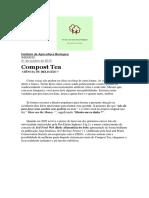 Compost Tea Ciência ou Religião Instituto de Agricultura Biologica