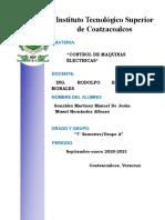 Actividad 1 Dispositivos electromecanicos