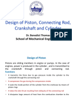 FALLSEM2020-21 MEE3001 TH VL2020210101665 Reference Material I 29-Oct-2020 Module 7 Design of Piston and Connecting Rod 13