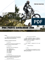 AJP Motos - PR5 Parts List - 250