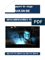 Rapport de stage SOUDURE. DESCARPENTRIES Thomas.pdf