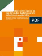 Oportunidades de negocio de los derivados digitales para la industria de contenidos