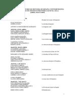 Calendario.Exposiciones.Trabajos.Historia.de.España.Contemporánea