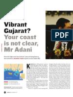 VibrantGujarat Your Coast is Not Clear Mr Adani