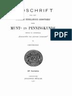 Over de noodmunten van Zierikzee, geslagen van 1574-1576 en over de inwisseling dezer stukken door de Staten van Zeeland in 1595 / M. de Man