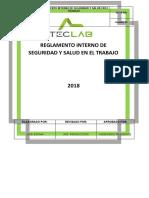 SST-R-001 Reglamento Interno de SST