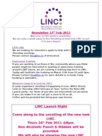 Newsletter 17th Feb 2011