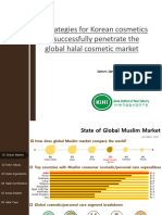 Strategies for Korean cosmetics to successfully penetrate the global halal cosmetic market