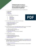 Examen I unidad COSMETICA 2010