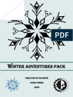 Winter adventures pack