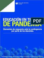 Educación en Tiempos de Pandemia. Encuesta Resultados Perú 1