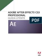 Guida Di Adobe After Effects Cs3