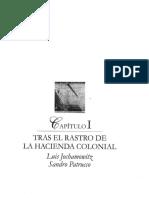 CAPITULO I-TRAS EL RASTRO