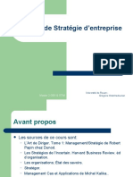 6- Notions de Strategie d'entreprises