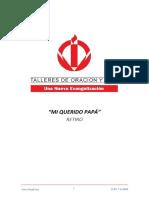 4.0 RETIRO MI QUERIDO PAPA - CUARTO DIA