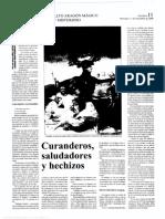 ADELL CASTÁN, José Antonio y GARCÍA RODRÍGUEZ, Celedonio. CURANDEROS, SALUDADORES Y HECHIZOS.