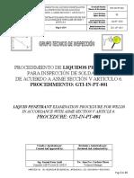 GTI-IN-PT-001_Rev 08 Procedimiento LP ASME V Art 6 2019