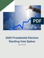 Vote Dumps Report