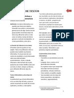 LECTURA DE APOYO TEXTOS INFORMATIVOS Y TEXTOS DESCRIPTIVOS