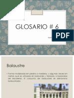 GLOSARIO 6