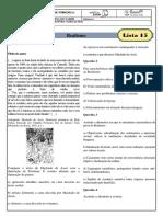 monitoria - lista 15 - realismo