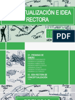 PREMISAS E IDEA RECTORA