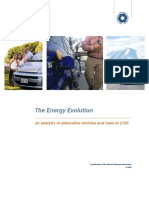 NHA 2009 - LCA - evolutionReport-PHEV vs FCV Hydrogen 50% CO2 Reduction