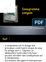 Lonogramme sanguin