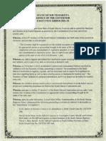 2021-02 executive order from Gov Kristi Noem
