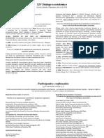 XIV Diálogo ecosistémico